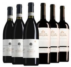 Wijnpakket bijzondere wijnen oktober (2x3 flessen)