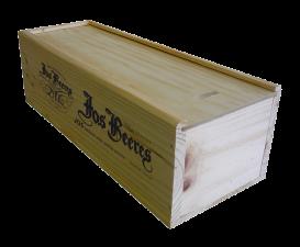 Kist hout voor 1 magnum fles wijn
