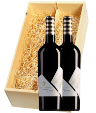 Wijnkist met 2 Collefrisio Montepulciano d'Abruzzo Vignaquadra