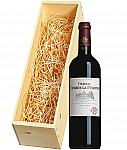 Wijnkist met Château Cambon la Pelouse Haut-Médoc 2012