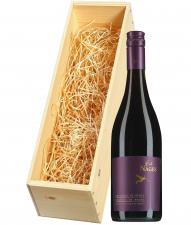 Wijnkist met Château de Nages ButiNages Costières de Nîmes rood
