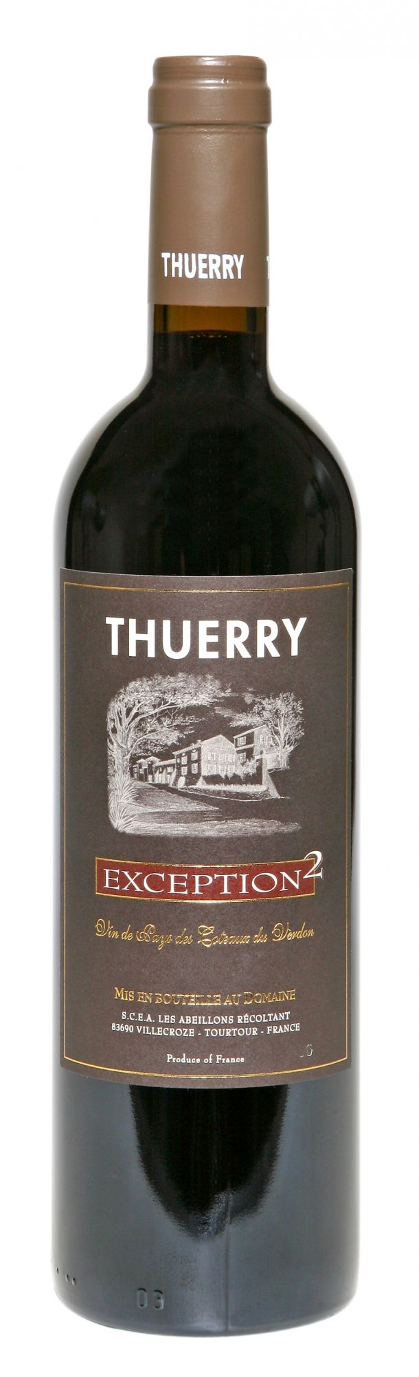 Château Thuerry, l'Exception 2 red 1.5 LTR.
