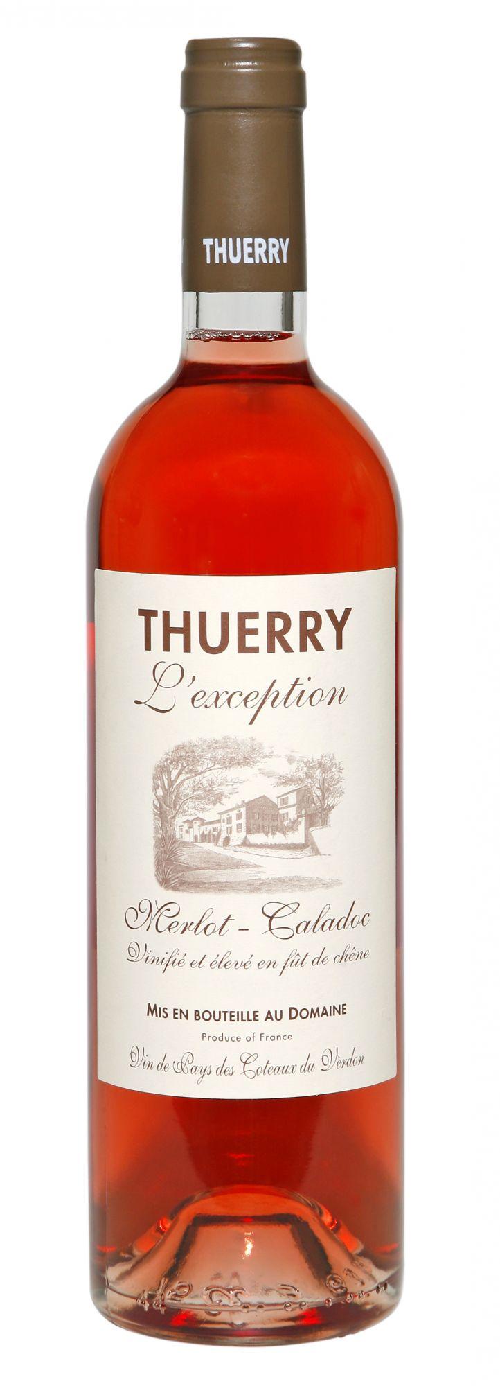 Château Thuerry, l'Exception rosé