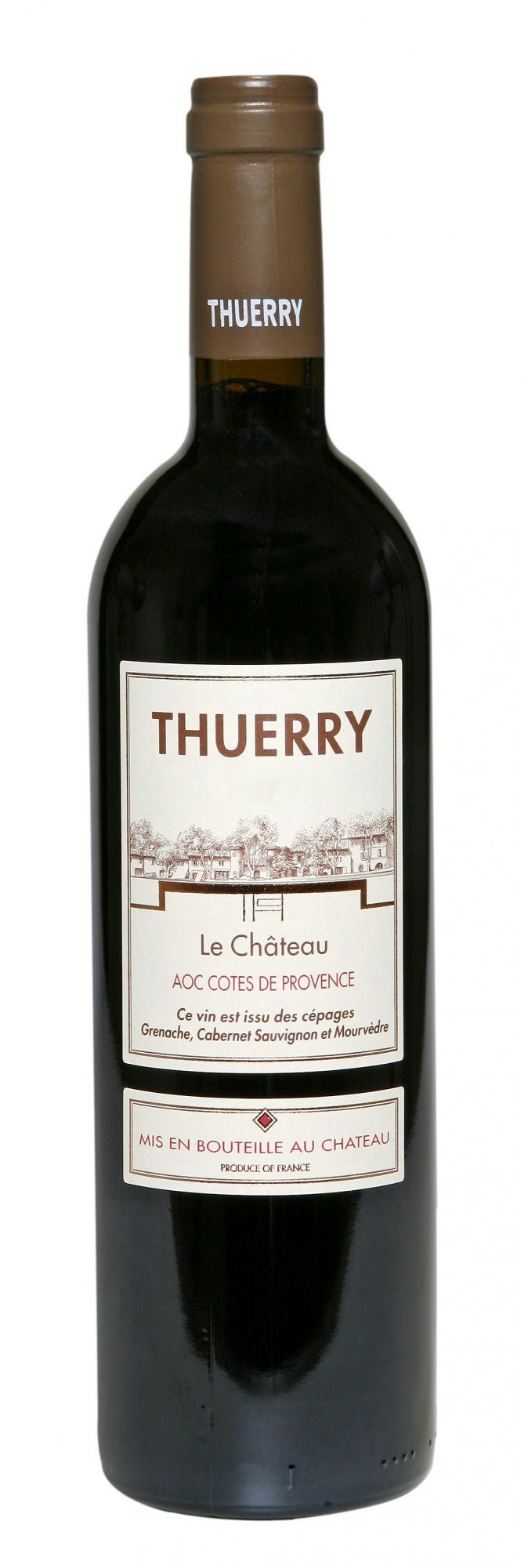 Château Thuerry, le Château rouge