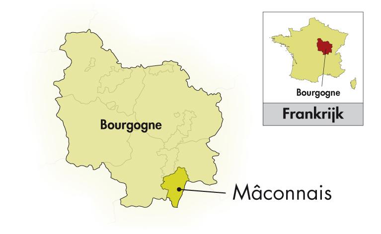 Cave des Grands Crus Blancs Mâcon-Loché halve fles