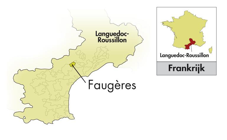 Domaine Saint Antonin Faugères Les Jardins rosé (op = op)