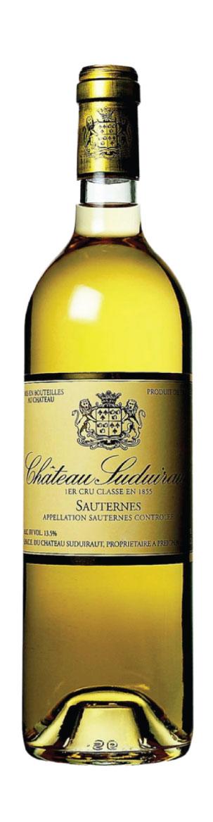 Sauternes 1e Grand Cru Classé Château Suduiraut