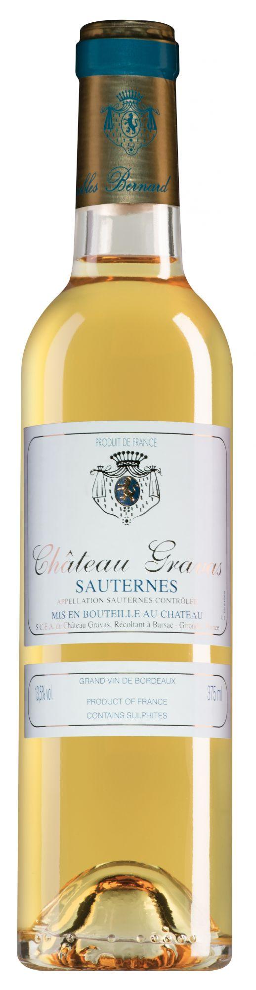 Chateau Gravas Sauternes halve fles