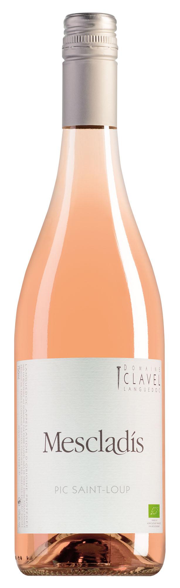 Domaine Clavel Pic Saint-Loup Mescladis rosé
