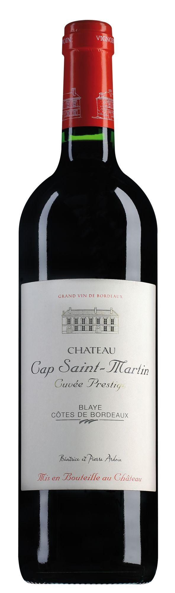 Château Cap Saint Martin Blaye Côtes de Bordeaux Cuvée Prestige