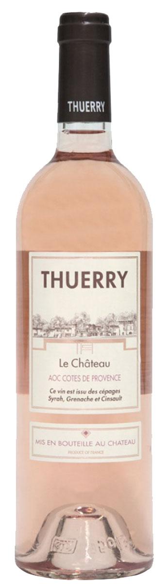 Château Thuerry, le Château rosé