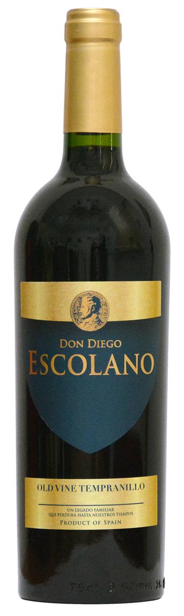 Don Diego Escolano old vine Tempranillo