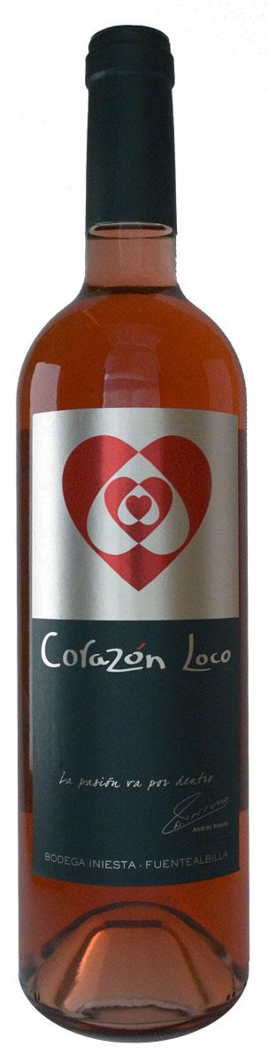 Corazón Loco rosado, Bodega A. Iniesta