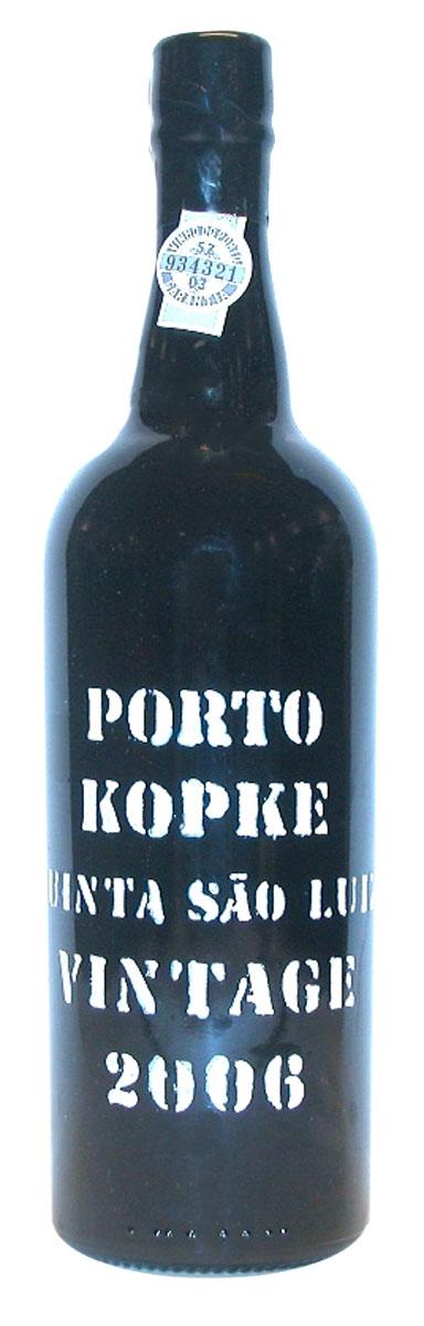 Kopke Vintage Port Quinta São Luiz 2006