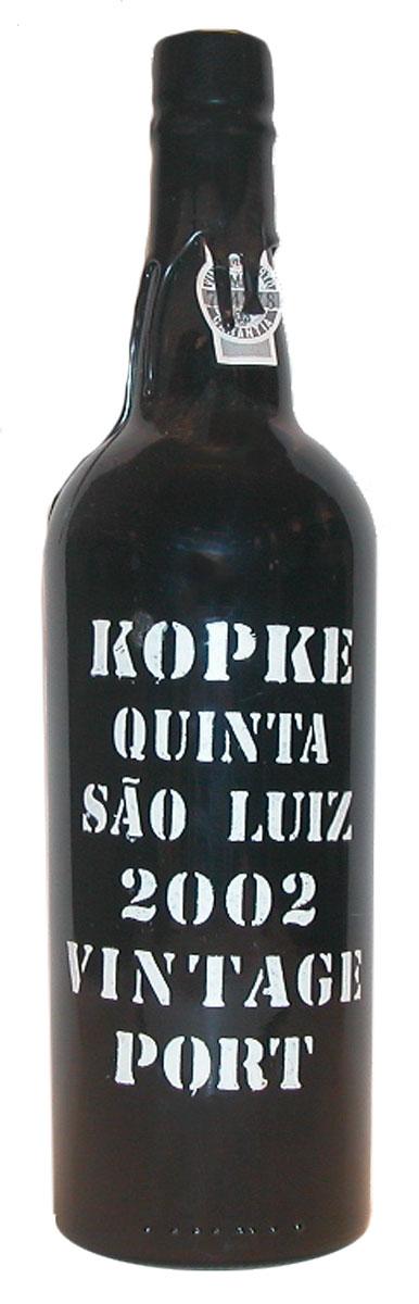 Kopke Vintage Port Quinta São Luiz 2002