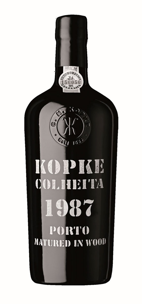 Kopke Colheita Port halve fles 1987