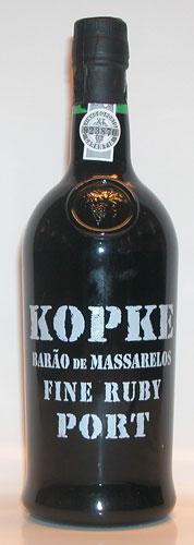 Kopke Barão de Massarelos Fine Ruby Port