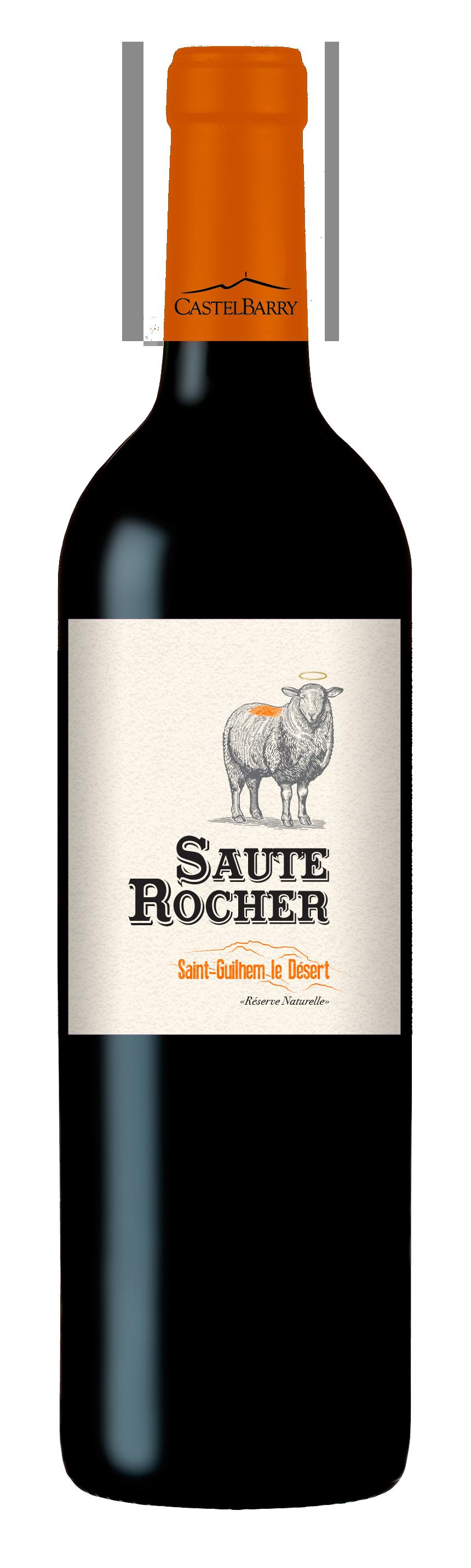 Saute Rocher Marselan-Syrah-Merlot