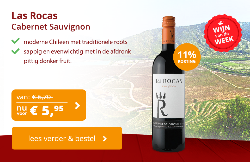 Las Rocas Cabernet Sauvignon Wijn van de Week