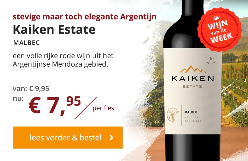 Kaiken Malbec Wijn van de Week