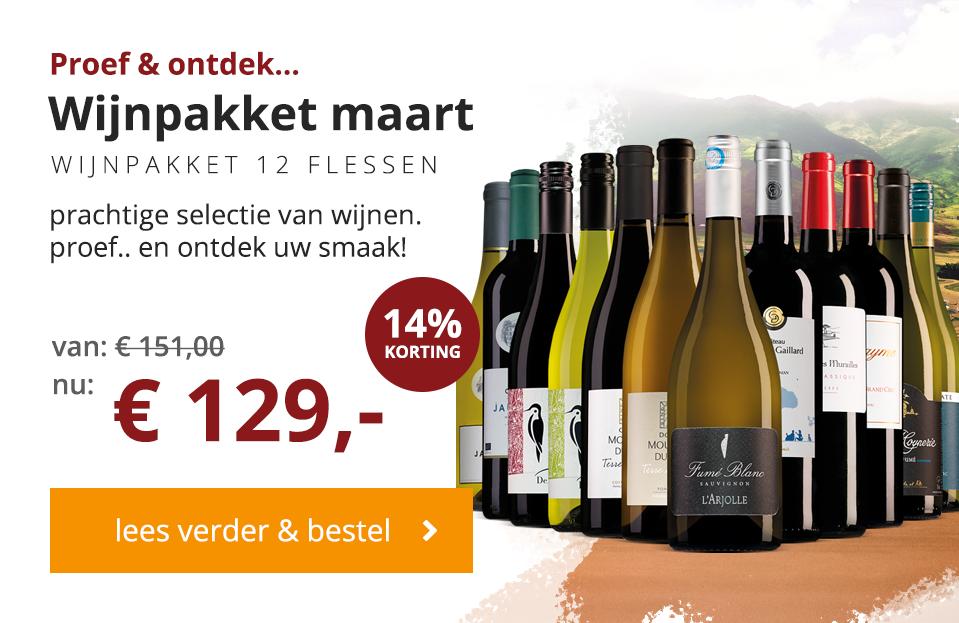 maart wijnbericht