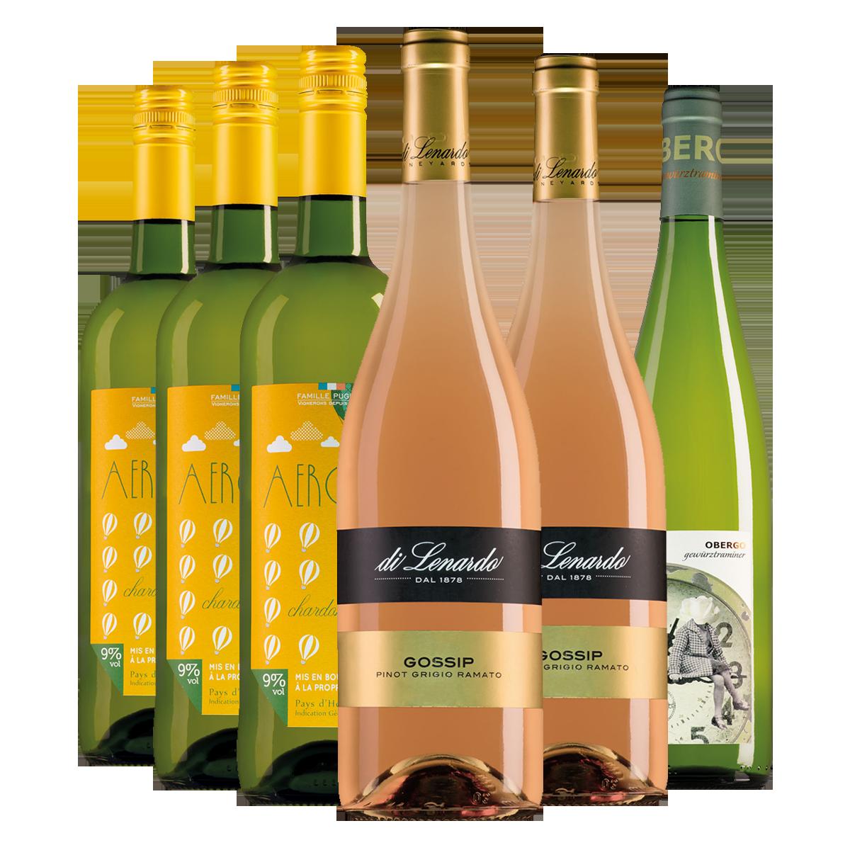 Wijnliefhebbers voordeelpakket