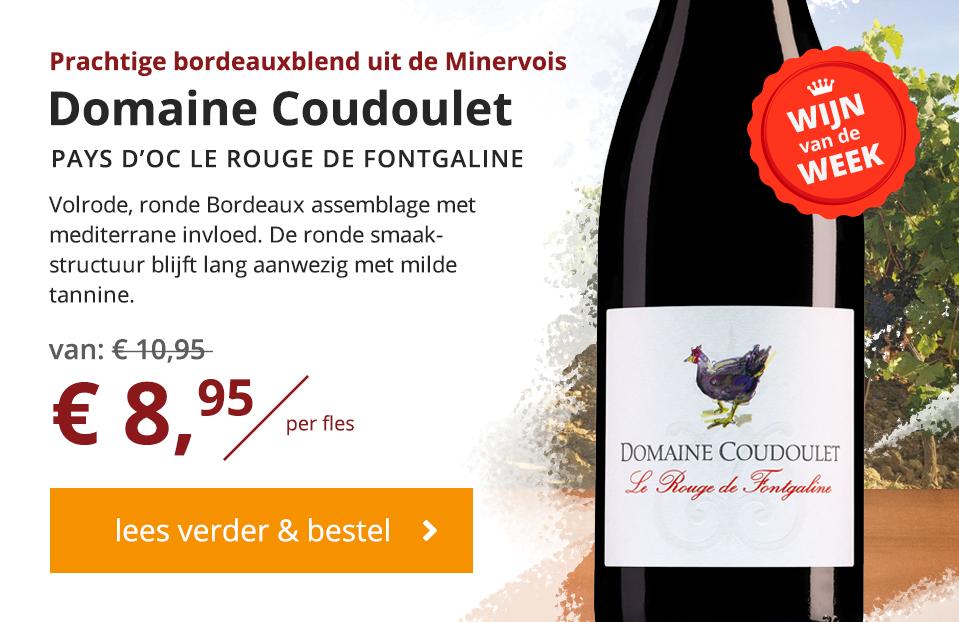 Domaine Coudoulet Wijn van de Week