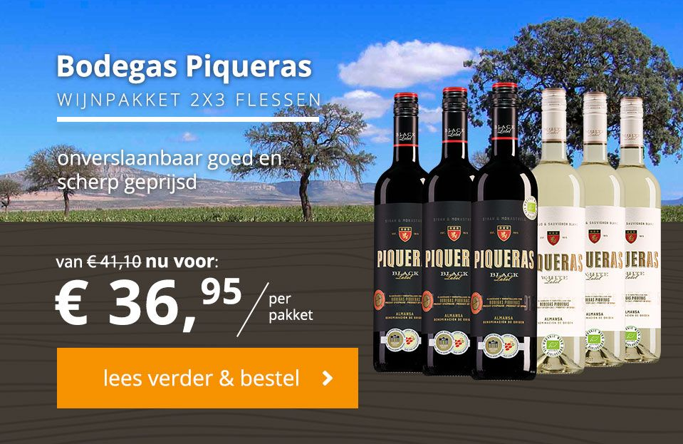 wijnpakket piqueras