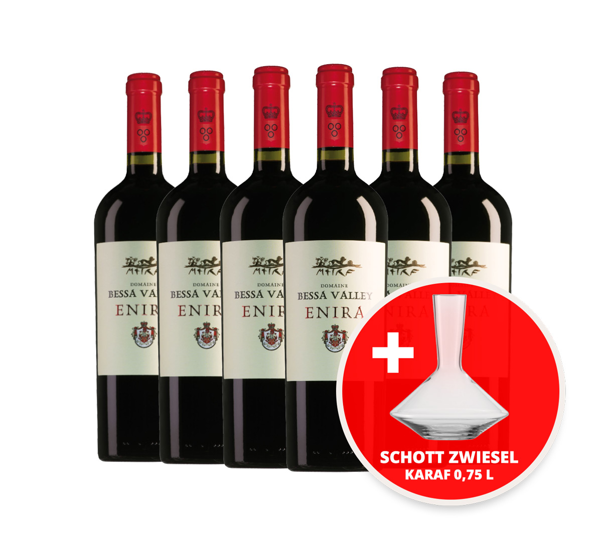 Enira Wijnpakket met Schott Zwiesel Pure Decanteerkaraf