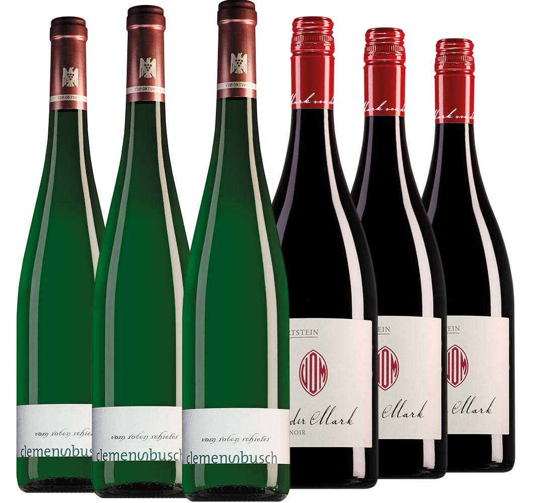 Wijnpakket bijzondere wijnen april (2x3 flessen)