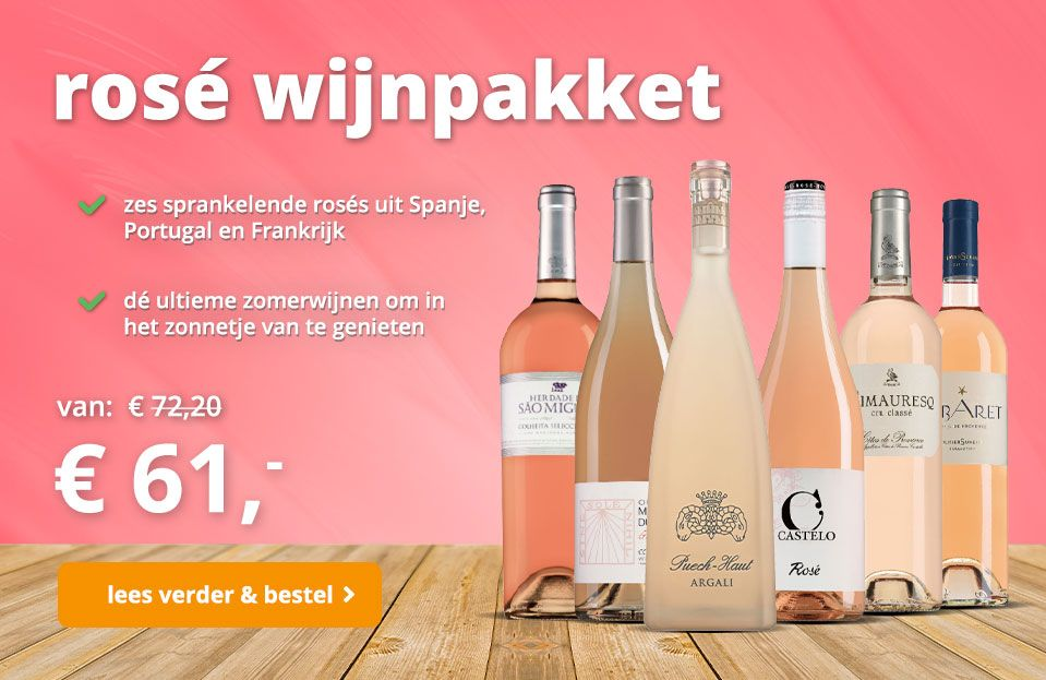 Rose wijnpakket 06-21