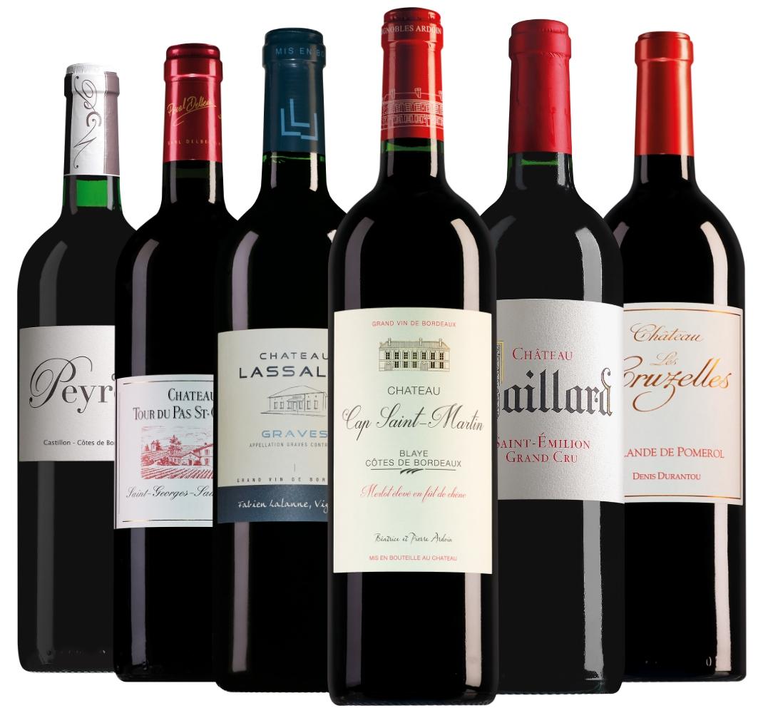 Château Cap Saint-Martin Blaye Côtes de Bordeaux Cuvée Prestige Merlot