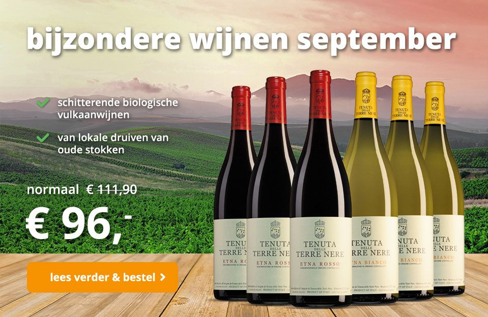 Wijnpakket bijzondere wijnen september