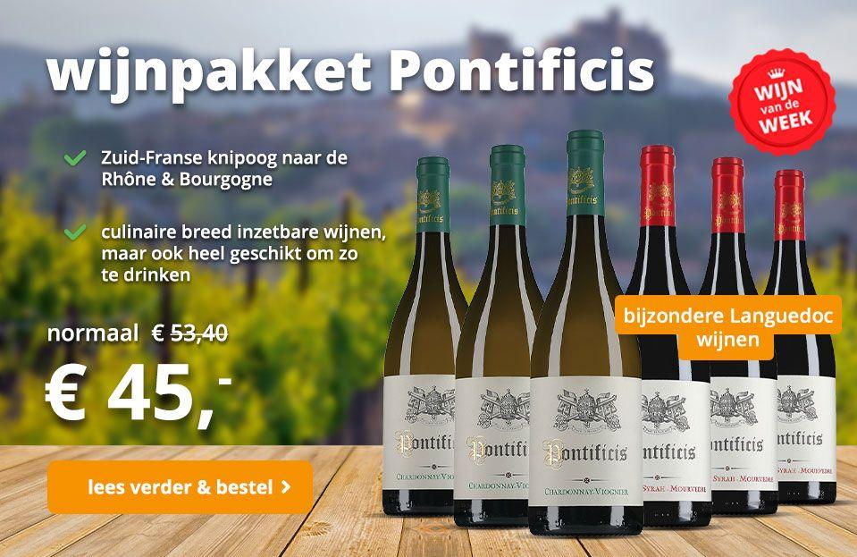 wijnpakket Pontificis