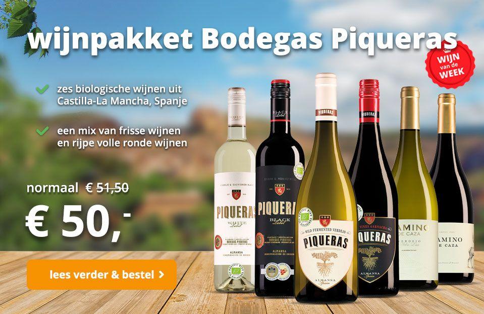 wijnpakket piqueras wvdw