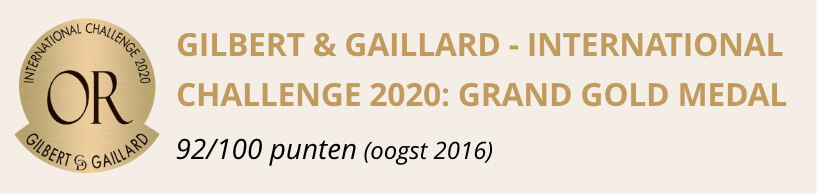 gilbert & gaillard - international challenge 2020: grand gold medal